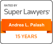 Rated By Super Lawyers -- Andrea L. Palash -- 15 Years